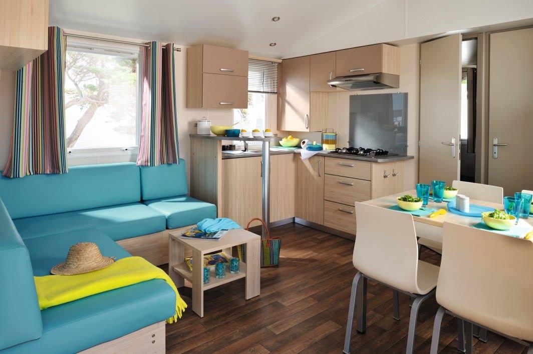 intérieur location camping Noirmoutier