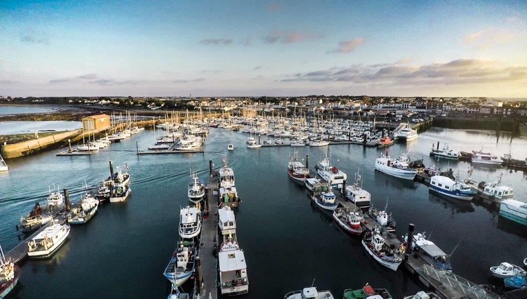 l'ile de Noirmoutier et son port