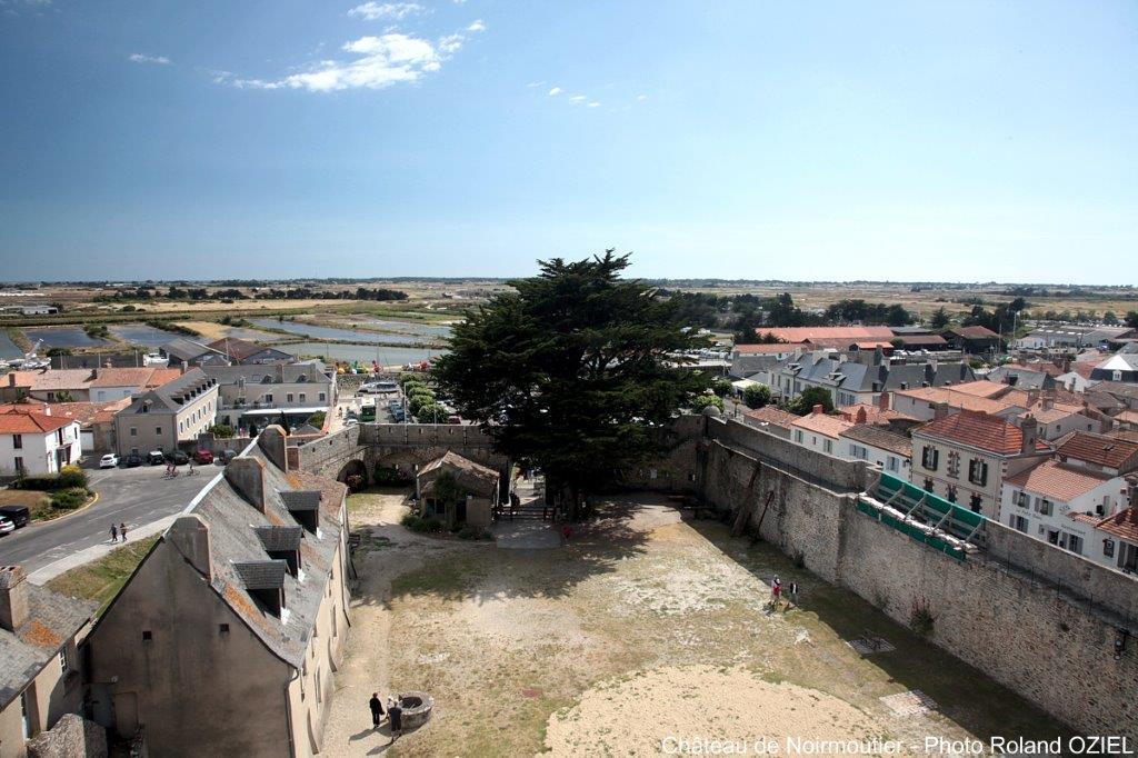 l'ile de Noirmoutier vue