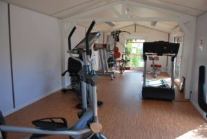 salle de fitness camping Noirmoutier