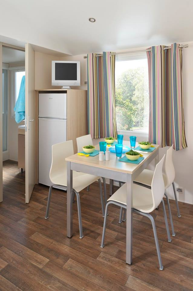 mobil home moderne camping Noirmoutier