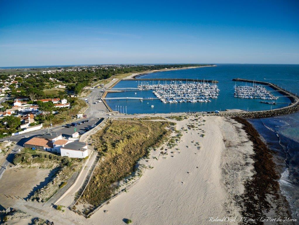 port de l'ile de Noirmoutier