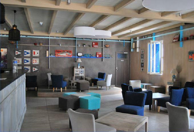 salle de restaurant camping Noirmoutier