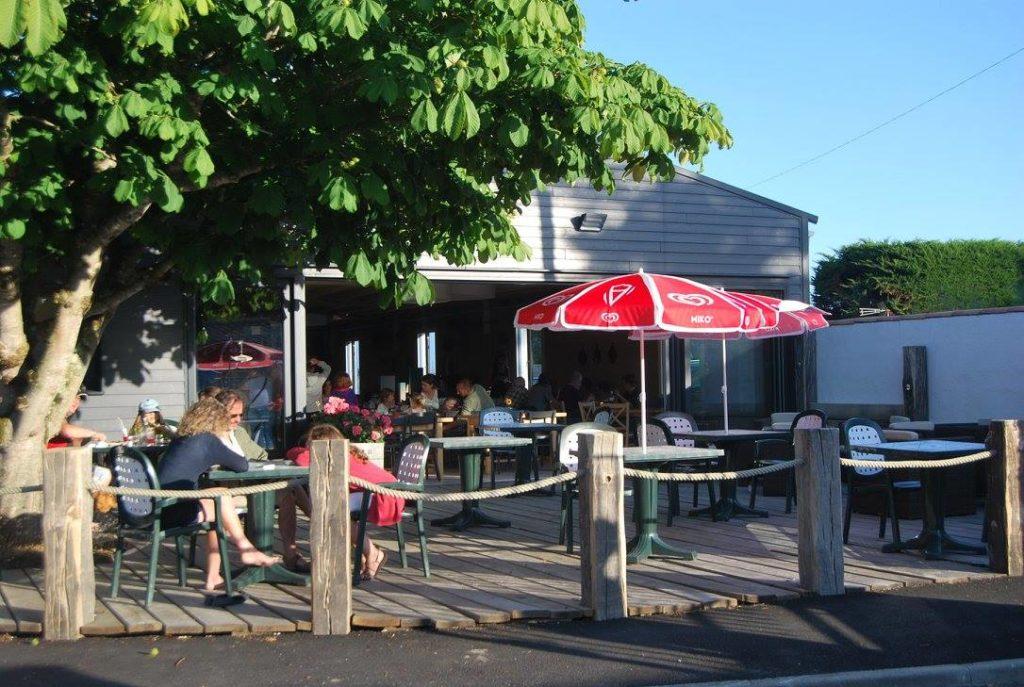 terrasse bar du camping à Noirmoutier