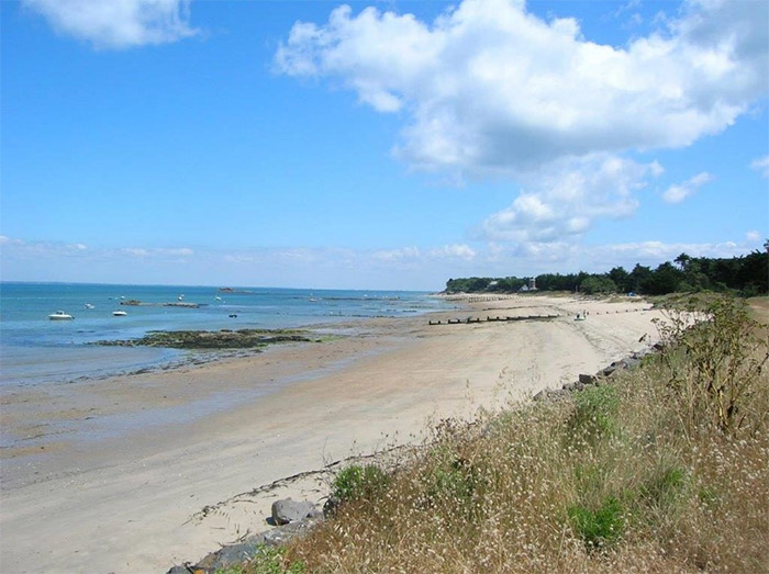 plage accès direct camping Noirmoutier