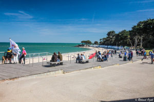 plage avec camping 3 étoiles à Noirmoutier en Vendée